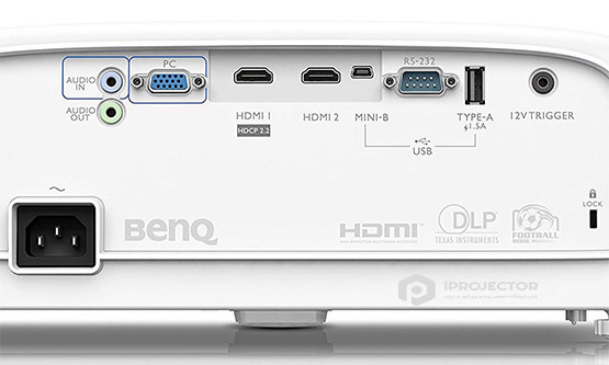 benq tk800 projector port
